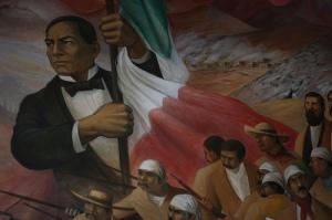 Mural en el castillo de Chapultepec