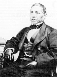 Benito Juarez ex Presidente de México