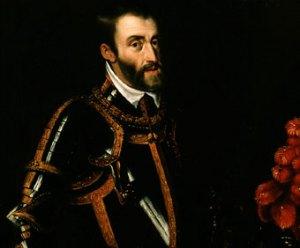 Carlos V (detalle de un retrato de Rubens)