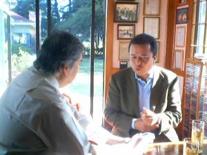Cesar Camacho Quiroz y Gerardo Viloria Varela