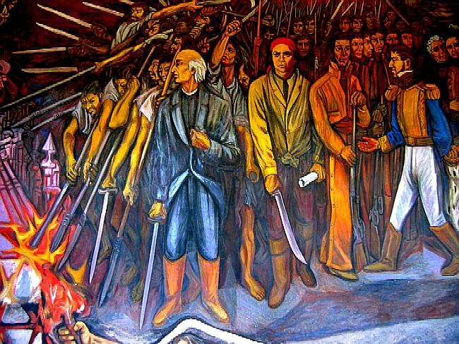 1810 El Cura Miguel Hidalgo Y Costilla Llama Al Pueblo A