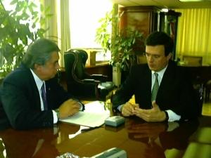 Marcelo Ebrad y Gerardo Viloria Varela