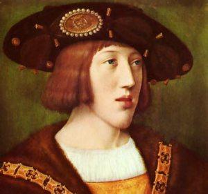 Un joven Carlos V (retrato de Bernard van Orley)