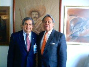 Ricardo García Villalobos Gálvez y Gerardo Viloria Varela